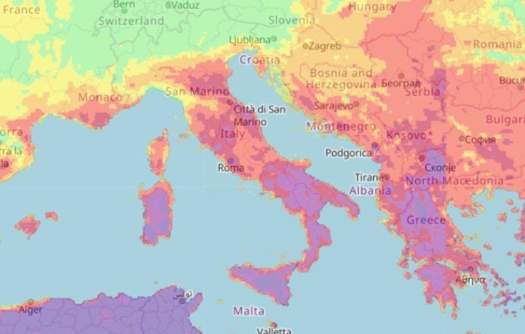 allarme incendi italia 2021