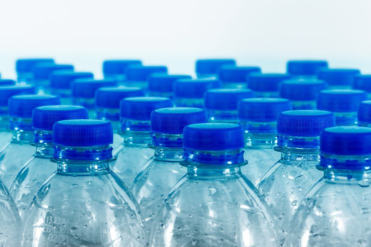 plastica bottiglie acqua