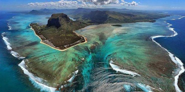 cascate sottomarine mauritius