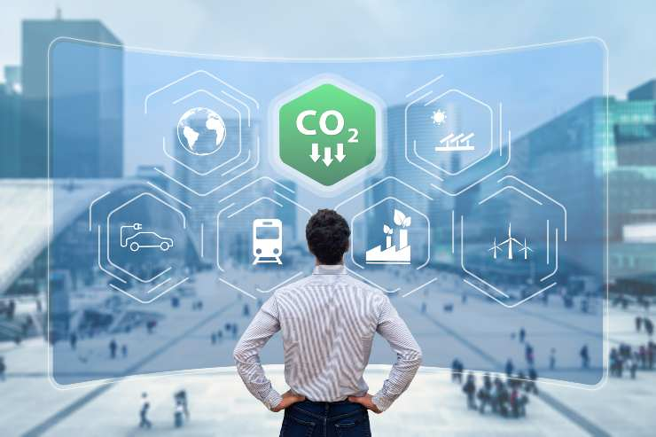 diminuire emissioni co2