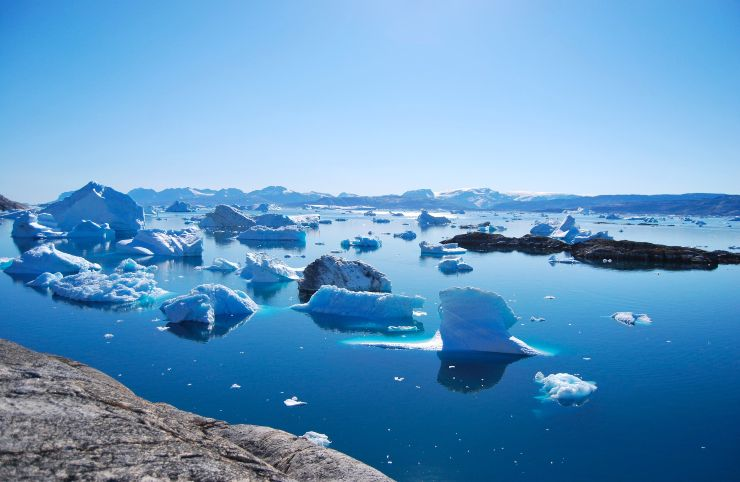 groenlandia ghiaccio