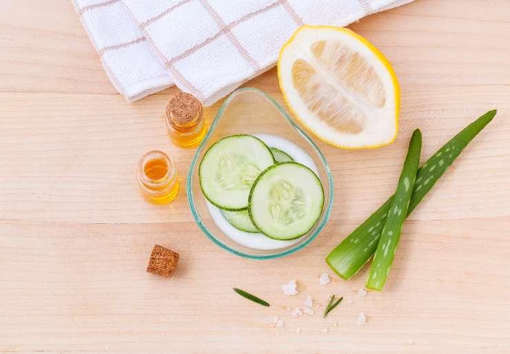 ingredienti naturali per la pulizia