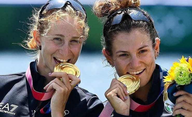 medaglie oro olimpiadi canottaggio