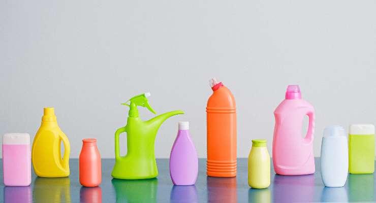 prodotti per la pulizia di casa