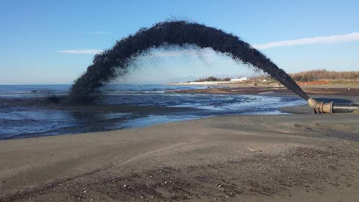 ripascimento spiaggia
