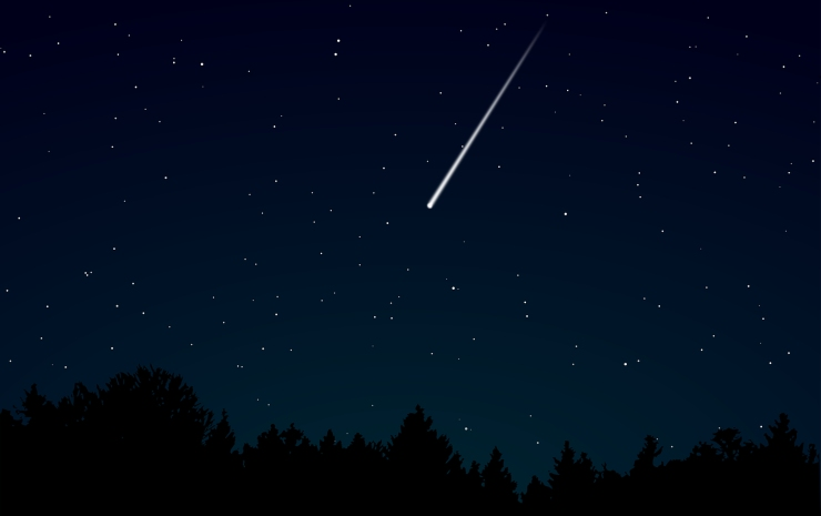 stella cadente cielo san lorenzo