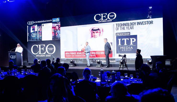 Khaled CEO Award 2018