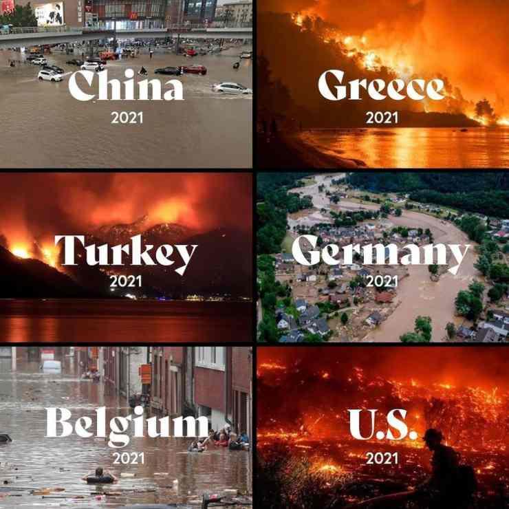 Khaled evidenzia i cambiamenti climatici