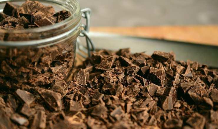 cioccolato in scaglie