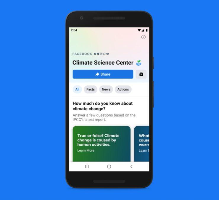 climate science center facebook