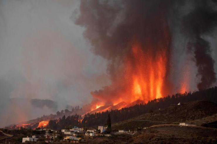 eruzione vulcano canarie