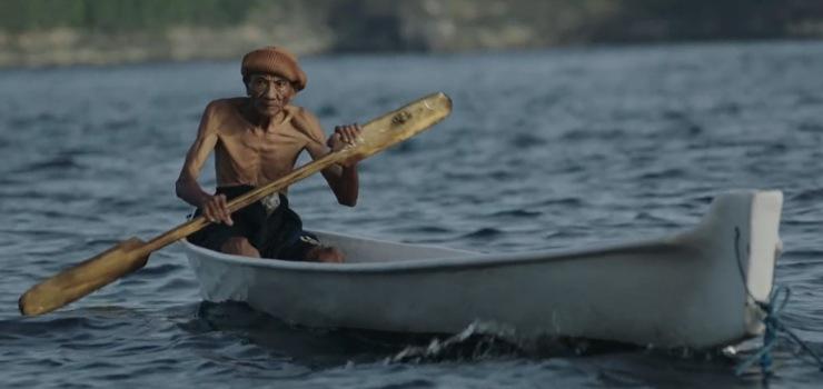 pescatore plastica