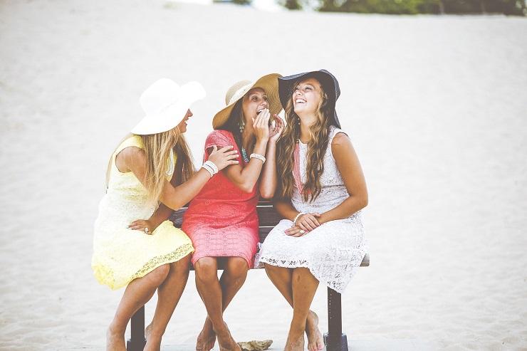 ridere amiche