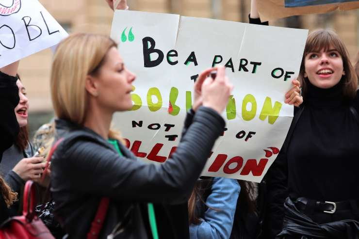 sciopero giovani