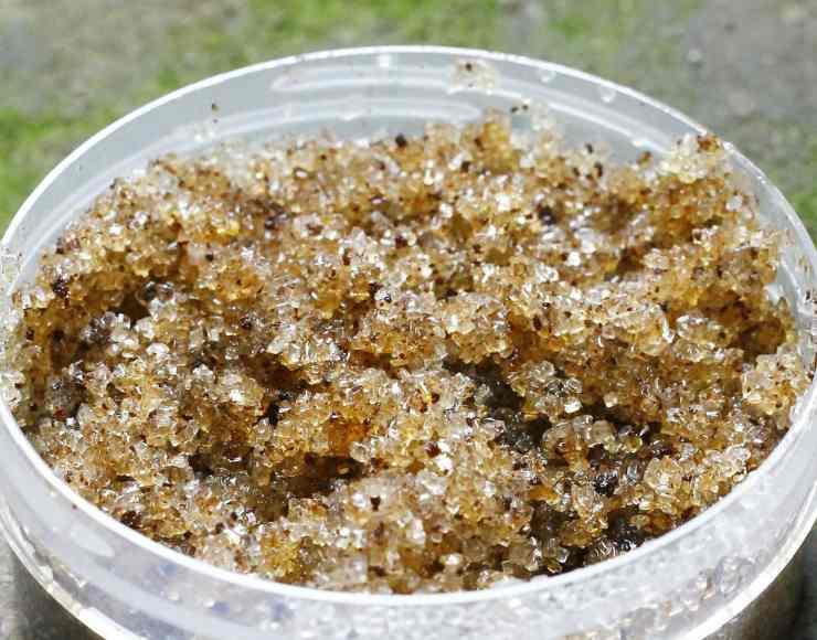 Scrub al sale marino integrale