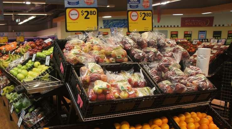 plastica frutta