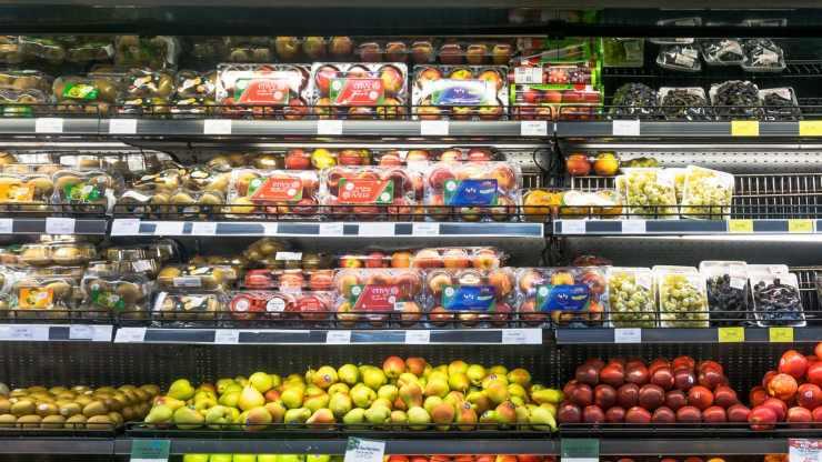 supermercato plastica